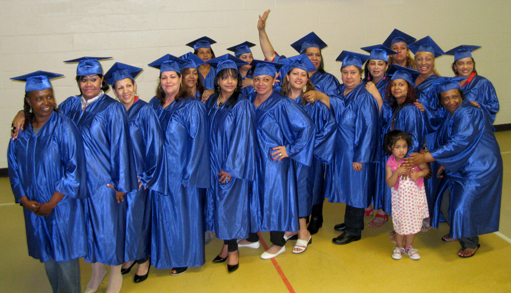 """Providence Housing Authority 'Get Connected' Graduates"""